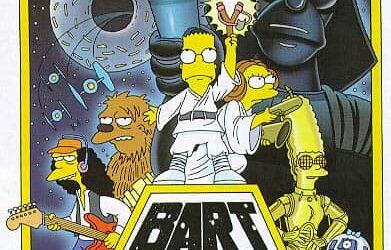 Star Wars de lo Simpsons