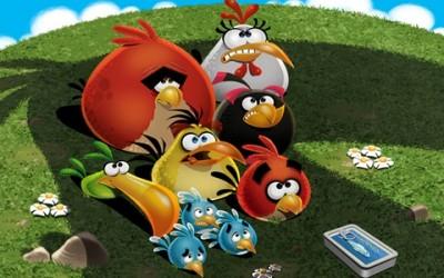 Angry Birds y Chrome