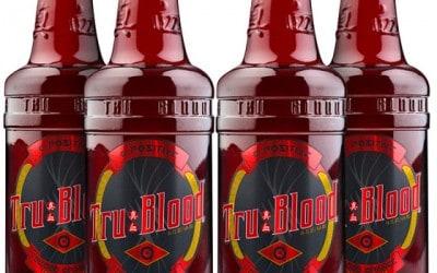 Bebida de TRUE BLOOD, solo para vampiros.
