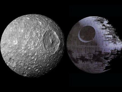 Mimas y la estrella de la muerte.