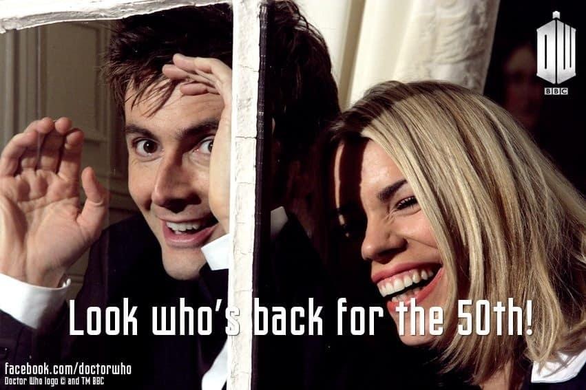 50 Aniversario de Dr. Who