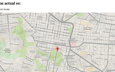 Geolocalización con Google Maps
