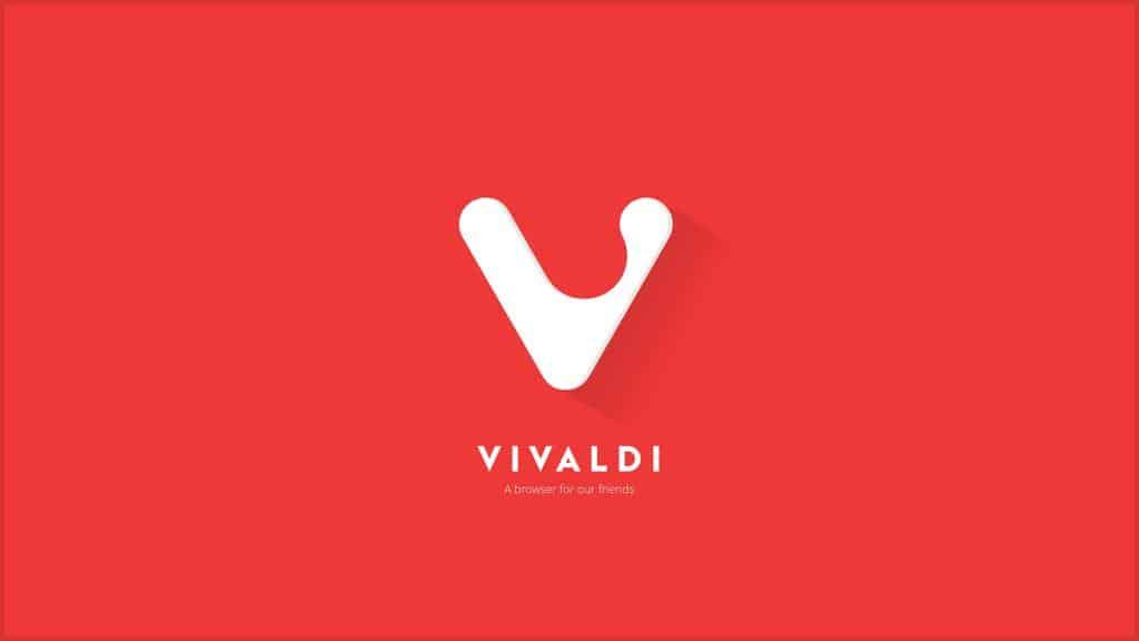 Navegador web Vivaldi un navegador hecho en la WEB