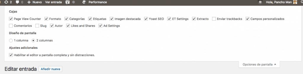 Cambiar el autor de una entrada o página desde el editor de WordPress