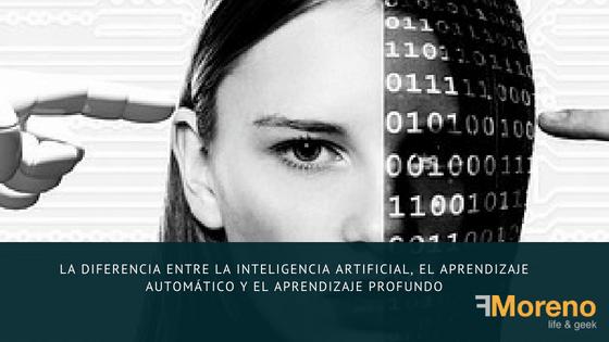 La diferencia entre la inteligencia artificial, el aprendizaje automático y el aprendizaje profundo