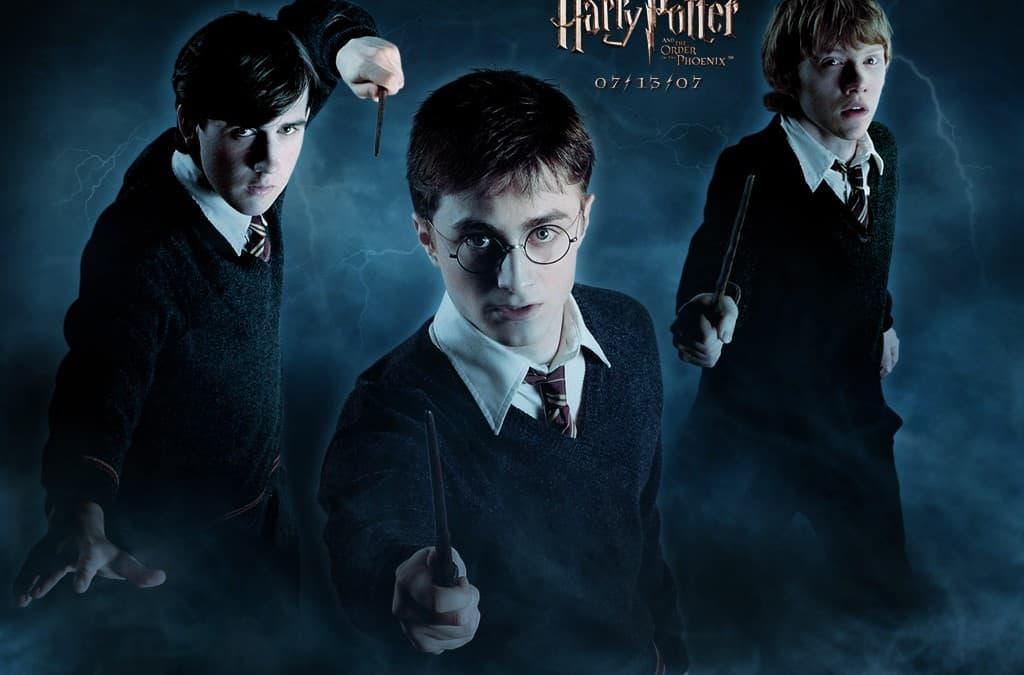 Harry Potter y la orden del Fenix.