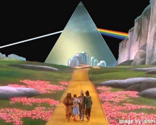 El mago de Oz y dark side of the moon