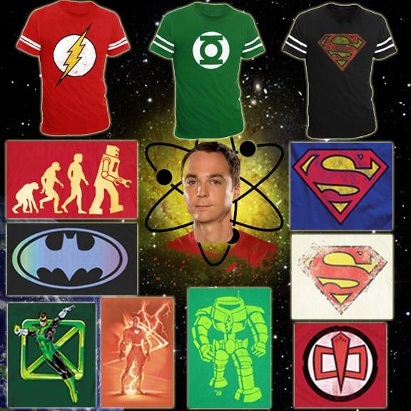 Camisas de Sheldon