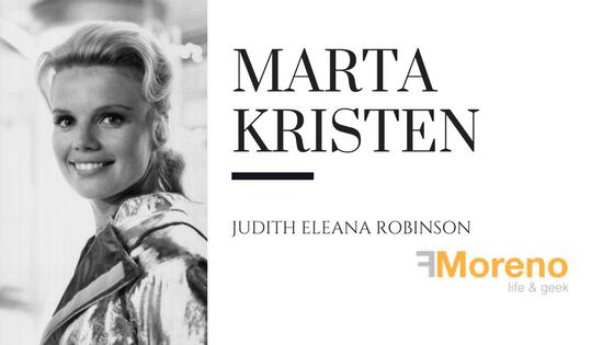 Judy Robinson ( Marta Kristen), Perdidos en el espacio.