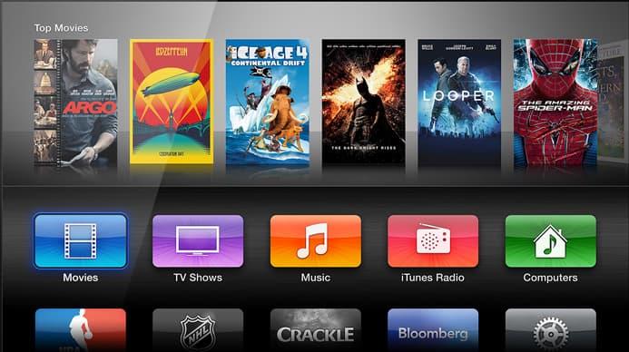 Screen Apple TV