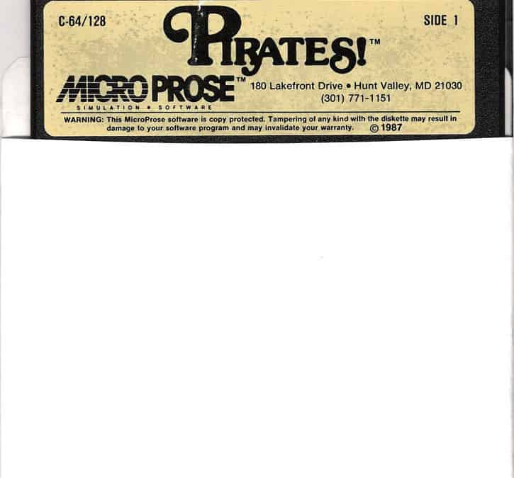 Pirates!: MicroProse en 1987