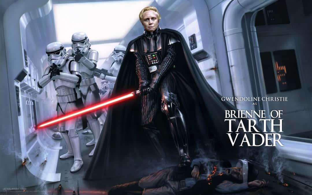 Gwendoline Christie en Star Wars