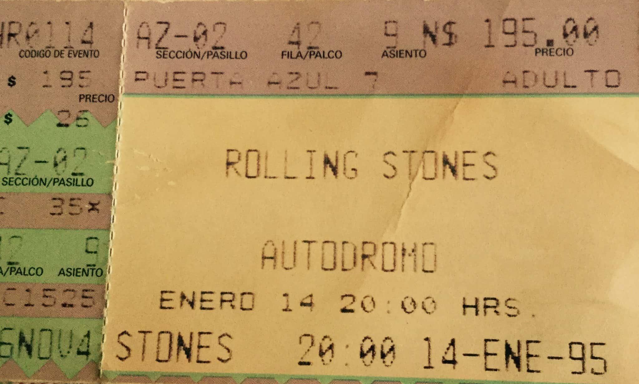 Rolling Stones 1995