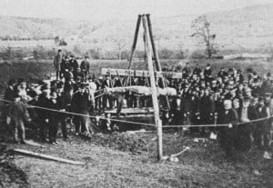 Cardiff_giant_exhumed_1869