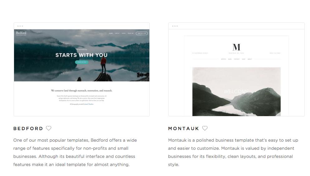 Ejemplo de paginas y menus