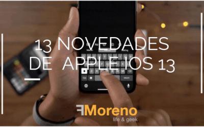 13 Novedades de IOS 13